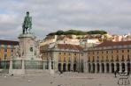 Лиссабон. Площадь Комерсиу и замок