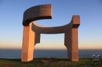 Хихон. Современная скульптура, ставшая символом города