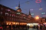 Мадрид. Рождественские огни на Пласа Майор