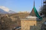 Сьон. Вид на крепость Турбийон