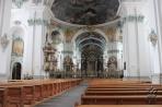 Санкт-Галлен. Интерьер собора