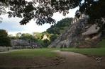 Паленке. Общий вид города майя.