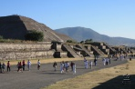 Теотиуакан. Дорога мертвых и пирамида Солнца