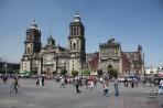 Мехико. Самый крупный собор в Латинской Америке.