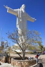 Кочабамба. Статуя Христа.