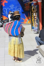 Типичная жительница Боливии.