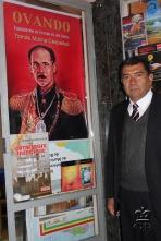 Писатель Томас Молина Сеспедес, по приглашению которого я посетил Боливию.
