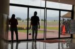 В аэропорту Санто-Доминго.