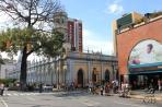 Каракас. Дворцы колониального стиля и современные дома.