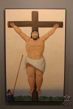 Медельин. Музей Антиохии. Ф. Ботеро. «Распятие»