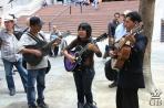 Медельин. Певцы на Прадо