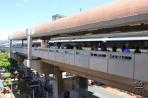 Медельин. Одна из двух линий метро