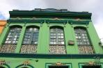 Богота. Типичный ярко крашеный фасад