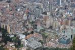 Богота. Вид на центр города с Мирадора Монсеррате
