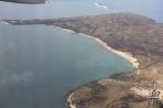 Галапагосские о-ва. Вид с воздуха