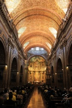 Кито. Церковь Ла-Компанья