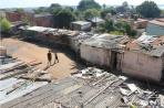 Асунсьон. Трущобы рядом со старой мэрией