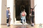 Асунсьон. Национальные гвардейцы у входа в Пантеон