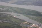 Река Парагвай перед посадкой в Асунсьоне
