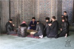 Хива. В мавзолее Пахлаван-Махмуд