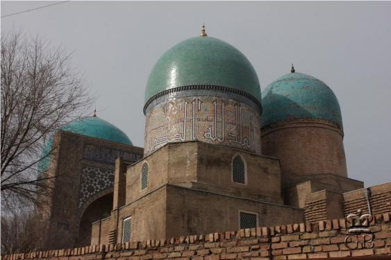 Шахрисабз. Мечеть Кок-Гумбаз