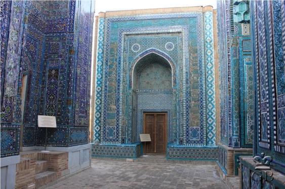 Самарканд. Комплекс мавзолеев Шахи-Зинда