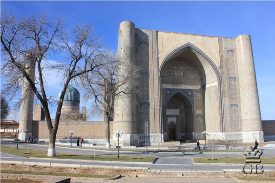 Самарканд. Мечеть Биби-Ханым