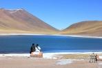 Одна из лагун в Андах