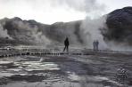 Гейзеры бьют в Андах только на рассвете