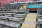 Сантьяго. 8-я трибуна на Национальном стадионе осталась нетронутой после путча 1973 г.