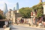 Улица Асафы Зейналли - улица сувенирных лавок