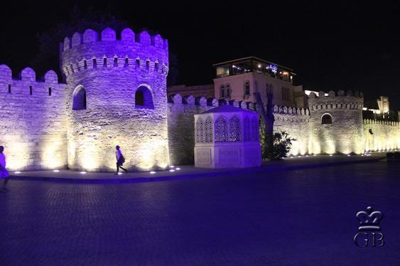 Крепостные стены старого города