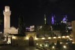 Панорама ночного Баку