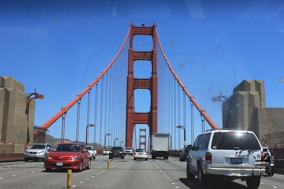 Сан-Франциско. Мост Золотые Ворота (СА)