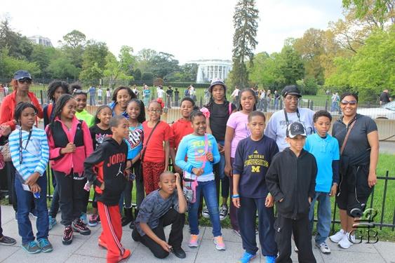 (Вашингтон. На фоне Белого Дома (DC)