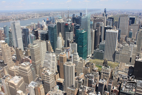 Нью-Йорк. Небоскрёбы на Манхэттене (NY)