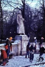Ваймар. Памятник Ф. Листу