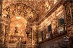 Салвадор . Интерьер церкви Сан-Франсиску – самой богатой в Бразилии.
