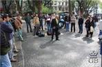 Сан-Паулу. Уличный проповедник.